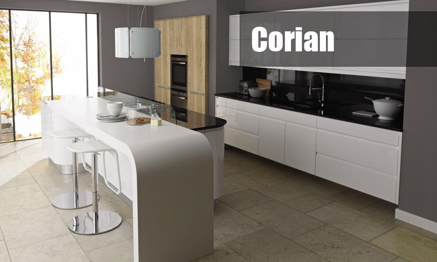 corian kitchen worktop template and fitting service uk wide