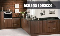 Made to measure walnut kitchen doors