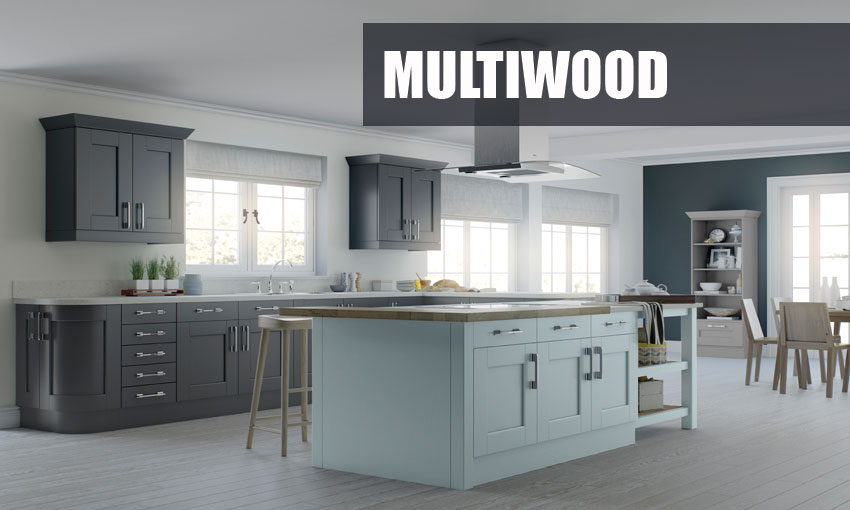 Supply only multiwood kitchens