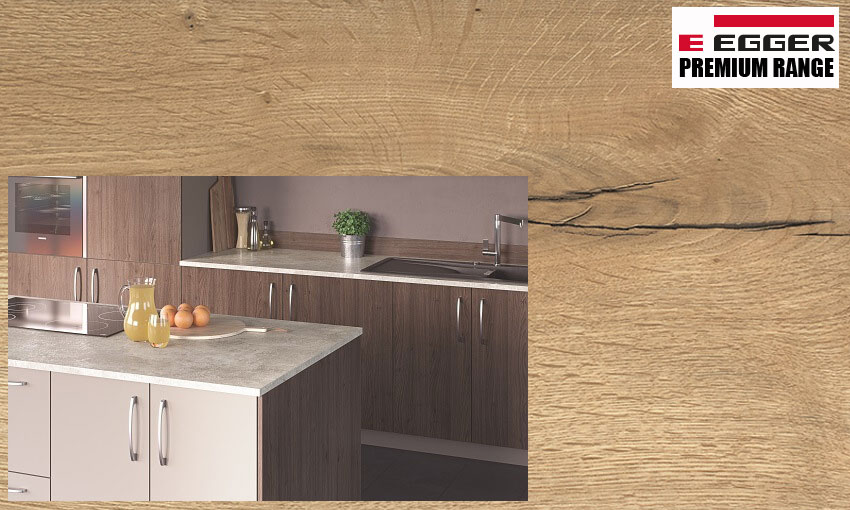 Premium laminate kitchen worktop