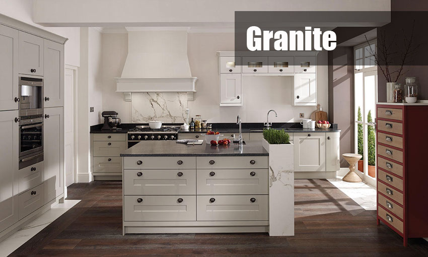 granite kitchen worktops tempate and installation service